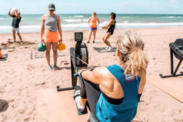 CrossFit at the beach